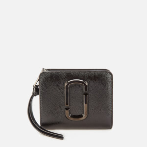 Marc Jacobs Women's Snapshot Mini Compact Wallet - Black