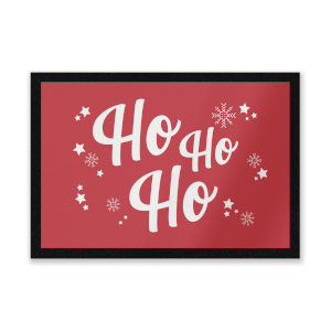 Ho Ho Ho Door Mat Entrance Mat