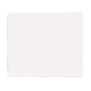 White Star Pattern Fleece Blanket