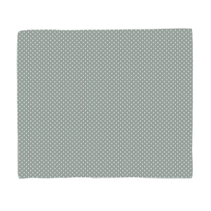 Grey Tree Pattern Fleece Blanket