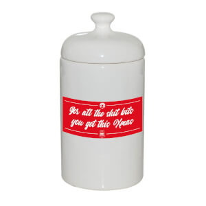 For All The Shit Bits You Get This Xmas Storage Jar