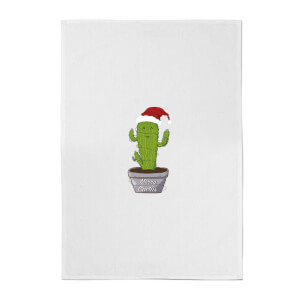 Merry Cactus Cotton Tea Towel