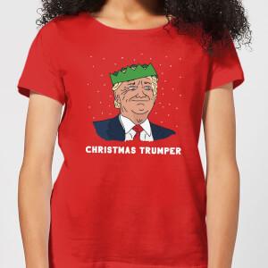 Christmas Trumper Women's T-Shirt - Red