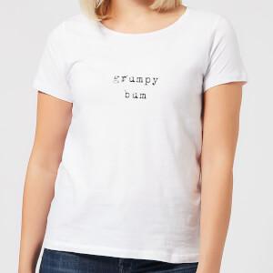 Grumpy Bum Women's T-Shirt - White