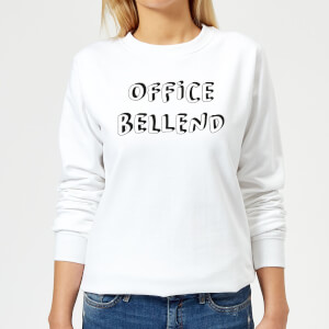 Office Bellend Women's Sweatshirt - White