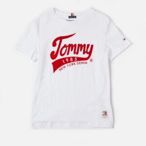 Tommy Hilfiger Boys' Tommy 1985 T-Shirt - Bright White