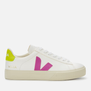 Veja Women's Campo Chrome Free Trainers - Extra White/Ultra Violet