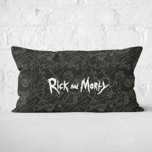Rick And Morty Rectangular Cushion