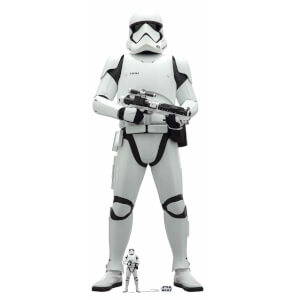Star Wars (The Rise of Skywalker) First Order Stormtrooper Lifesized Cardboard Cut Out