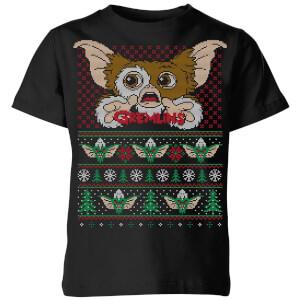 Gremlins Ugly Knit Kids' T-Shirt - Black