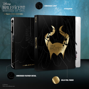 Maleficent: Mistress of Evil - Zavvi Exclusive Collector's Edition Steelbook 3D Steelbook (Includes 2D Blu-ray)