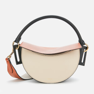 Yuzefi Women's Dip Shoulder Bag - Cream/Tan