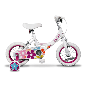 "Insync Fleur 12"" Wheel Girls Bicycle - 8"""