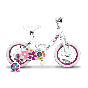 "Insync Fleur 14"" Wheel Girls Bicycle - 9"""