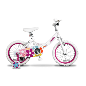 "Fleur 16"" Wheel Girls Bicycle - 10.5"""