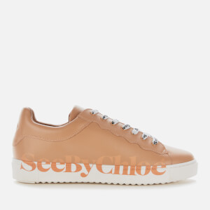 See By Chloé Women's Low Top Trainers - Rosellina/Logo Pink