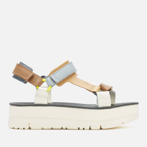 Camper Women's Oruga Flatform Sandals - Multi