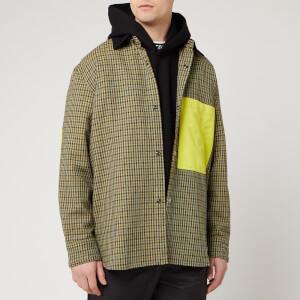 Acne Studios Men's Vichy Check Chore Jacket - Brown/Yellow
