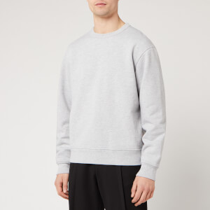 Acne Studios Men's Fate Pink Label Sweatshirt - Pale Grey Melange