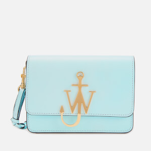 JW Anderson Women's Anchor Logo Bag with Braided Strap - Arctic Blue