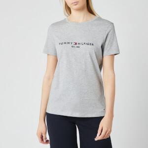 Tommy Hilfiger Women's Essential Hilfiger T-Shirt - Grey