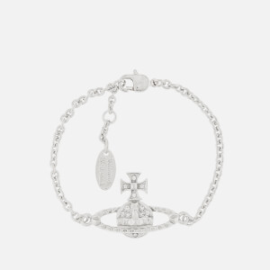 Vivienne Westwood Women's Mayfair Bas Relief Bracelet - Rhodium Crystal
