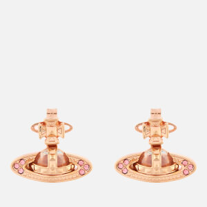 Vivienne Westwood Women's Pina Bas Relief Earrings - Pink Gold Light Rose
