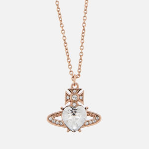 Vivienne Westwood Women's Ariella Pendant - Pink Gold Crystal