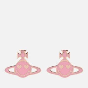 Vivienne Westwood Women's Chiswick Earrings - Pink/Gold