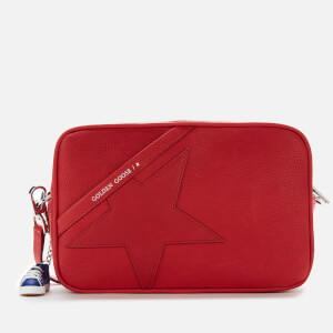 Golden Goose Deluxe Brand Women's Star Cross Body Bag - Red
