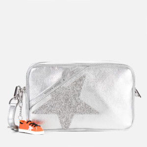 Golden Goose Deluxe Brand Women's Star Cross Body Bag - Silver/Crystal