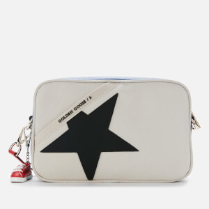Golden Goose Deluxe Brand Women's Star Cross Body Bag - White/Royal Blue/Red