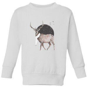 Balazs Solti Winter Is All Around Kids' Sweatshirt - White