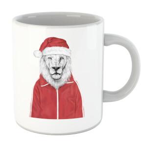 Balazs Solti Santa Lion Mug
