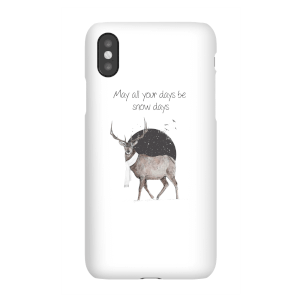 Balazs Solti May All Your Days Be Snow Days Phone Case for iPhone and Android