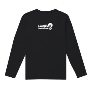 T-Shirt a maniche lunghe Luigi's Mansion 3 - Nero