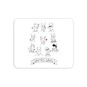 Tobias Fonseca Santa's Gang Mouse Mat
