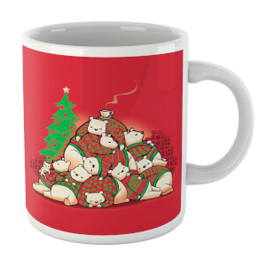 Tobias Fonseca Good Night Xmas Bear Mug