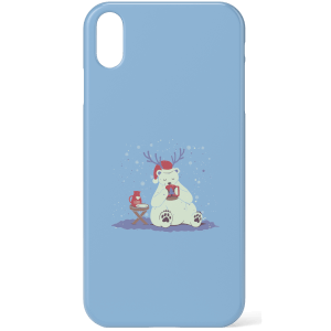 Tobias Fonseca Polar Xmas Eggnog Phone Case for iPhone and Android