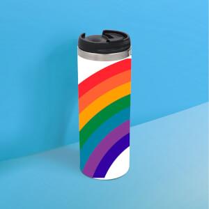 Retro Rainbow Thermos Mug
