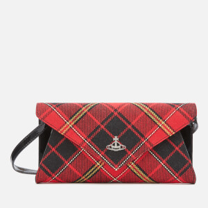 Vivienne Westwood Women's Lisa Envelope Clutch - Red/Black