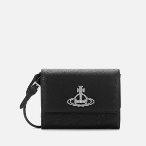 Vivienne Westwood Women's Johanna Cross Body Wallet - Black