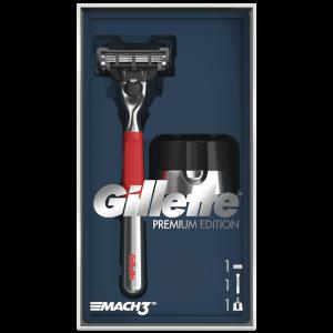 Mach3 Geschenkset mit Rasierer & Halter