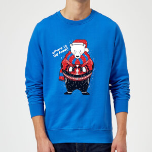 Tobias Fonseca Where Is The Food Sweatshirt - Royal Blue