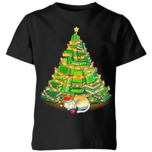 My Favorite Xmas Tree Kids' T-Shirt - Black
