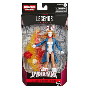 Hasbro Marvel Legends Spider-Man White Rabbit 6 Inch Action Figure