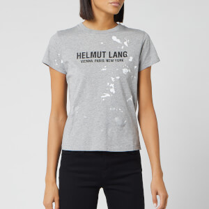 Helmut Lang Women's Baby T-Shirt Painter T-Shirt - Precision Heather