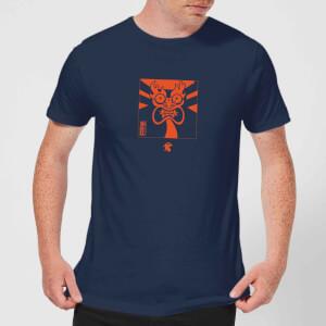 Samurai Jack Aku Kanji Men's T-Shirt - Navy
