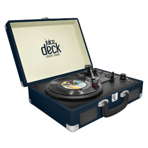 Juice Deck Suitcase Vinyl Record Player