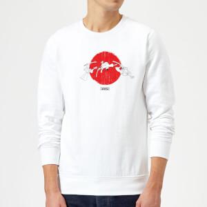 Samurai Jack Sunrise Sweatshirt - White